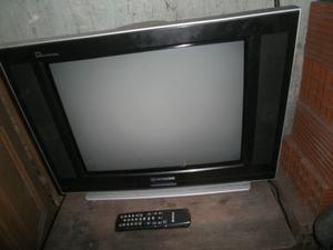 TV HITACHI 21 PULGADAS PANTALLA PLANA CON CONTROL REMOTO