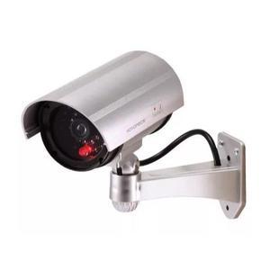 Cámara de seguridad falsa con leds infrarrojos y led