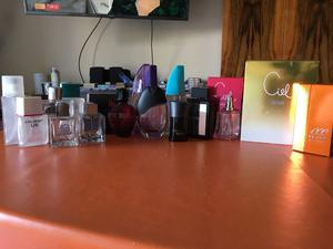 Frascos de perfume vacios importados y nacionales