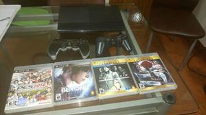 Playstation 3 poco uso + 6 Juegos