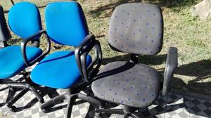 Sillas para oficina con o sin ruedas