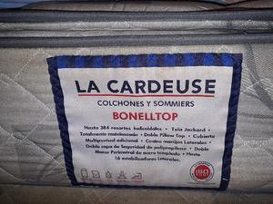 Sommier Y Colchon La Cardeuse Bonelltop 140x190x