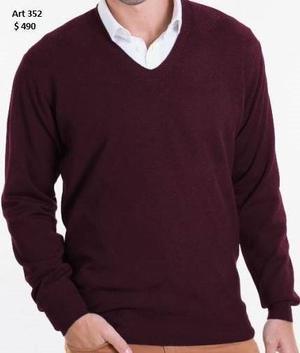 Sweaters y chombas tejidas