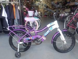Bicicleta Paseo de Niña Rodado 16 Usada