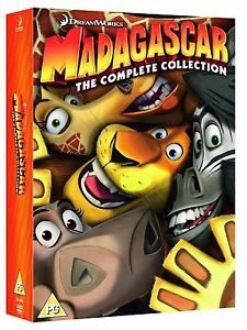 Madagascar Collection Ps2 Sony Playstation 2 (2 Discos)
