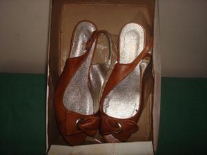 Sandalias De Cuero Usadas