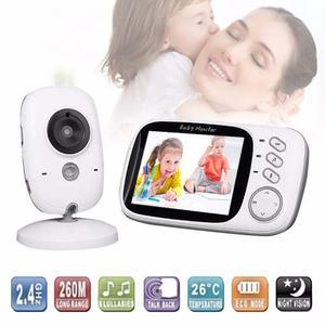 Baby Call Monitor Camara Intercomunicador Bebe Infrarojo 3.2