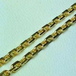 Cadena Forcet Oro 18 K Garantizado 65 Cm De Largo 12.5 Gr.