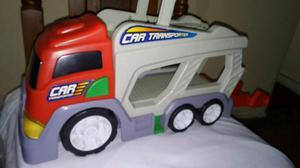 Camion transportador con sonido