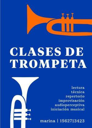 Clases de trompeta // todos los niveles y edades