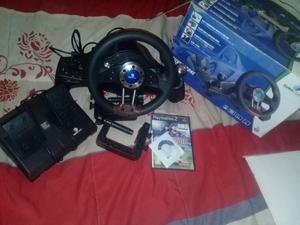 Vendo volante playstation 2 y para pc