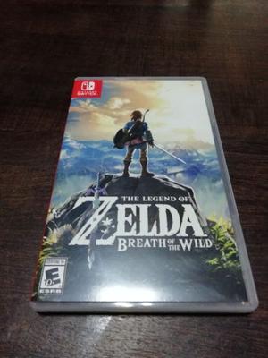 Zelda Breath of the Wild Switch - Original - Casi sin uso