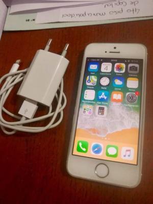 IPHONE 5S 16GB 4G SILVER EXCELENTE ESTADO. LIBRE DE FABRICA