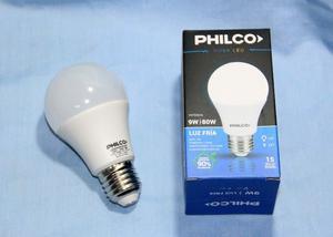 LAMPARAS LED PHILCO 9 WATTS (PACK X10)