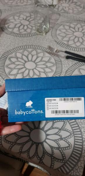 Vendo zapatitos nauticos baby cottons talle 18 nuevos en