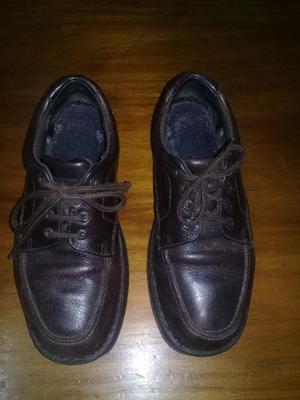 Zapatos cuero hombre hush puppies talle 41