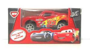 Auto Cars3 Rayo Mc Queen 7cm Fricción Pull Back En Caja