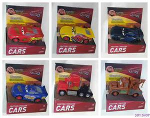 Cars Autos A Friccion Original 13 Cm Rayo Mate Mack Storm