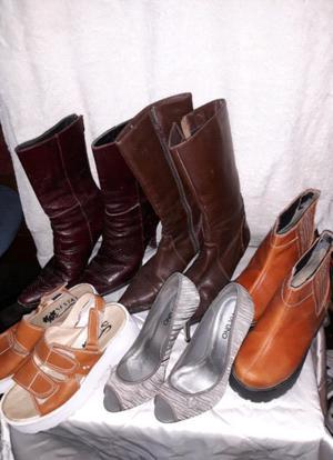 Lote de zapatos femeninos