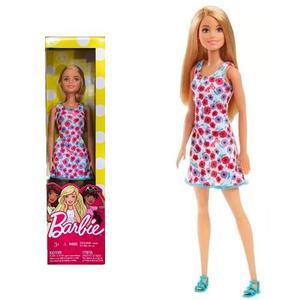 Muñeca Barbie Básica Clásica 4 Modelos Mattel En Smile