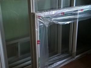 vendo ventana de aluminio de 2 x 1,20