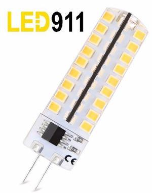 Lampara Bipin Led G4 Luz Calida 220v 8w=50w Dimerizable