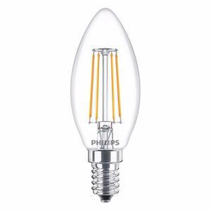 Lampara Led Filamento Vintage Vela E14 Philips 4w=40w