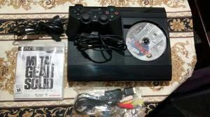 Play 3 Super Slim 250gb, Poco Uso, Caja,juegos Y Joistick.
