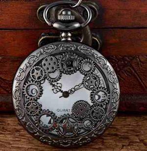 Reloj Collar O Bolsillo Steampunk
