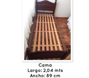 Se vende cama de una plaza