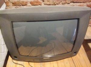 Televisor Philips 20 pulgadas con control remoto