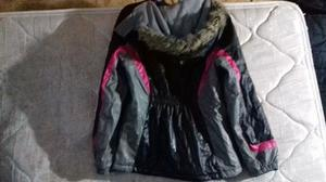 campera de abrigo engomada