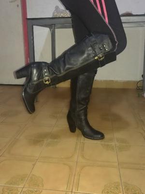 Botas de cuero N 39