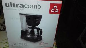 Cafetera ultracomb con filtro