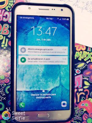 Celular samsung J7 liberado poco uso impecable