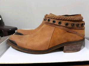 Vendo botas texanas de cuero, n°37