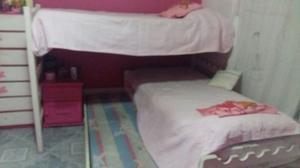 vendo cama cucheta en L