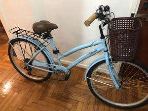 Bicicleta Olmo Amelie C/Cambios sin Uso