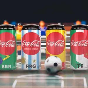 Pack Coleccion Completa 8 Latas Coca Cola Campeones Mundial