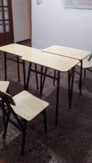 Se vende sillas mesas y escritorio