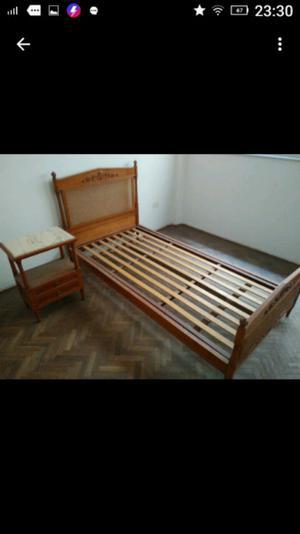 Vendo juego de dormitorio de una plaza