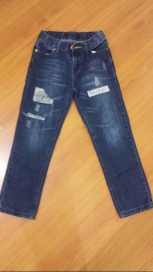 Vendo pantalón jeans, niño