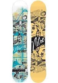 Excelente Tabla De Snowboard Nitro Desire 138cm Sin Uso'