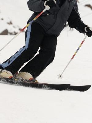 Par De Ski K2 - Modelo Carvin 1.65 Con Fijaciones Rossignol