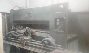Vendo prensa hidraulica de x.
