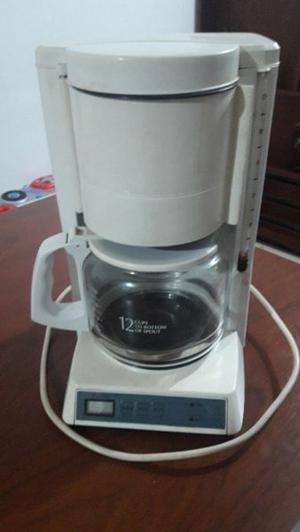 cafetera de filtro usada