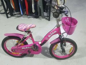 Bicicleta de Niña Rodado 16 Usada