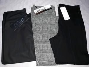Calzas y pantalon de vestir materia