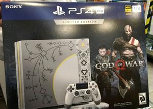 PS4 Pro 1tb edición limitada God of War