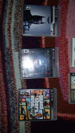 Vendo Juegos para PS3